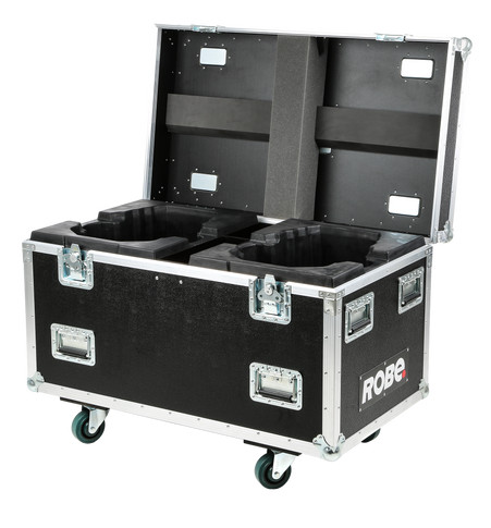 Dual Top Loader Case MegaPointe® - Horizontal | ROBE lighting