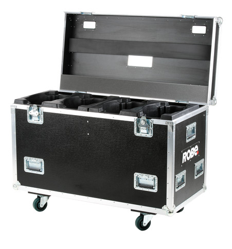 Quad Top Loader Case MegaPointe® | ROBE lighting