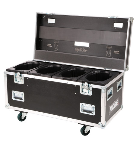 Quad Top Loader Case Spiider® | ROBE lighting