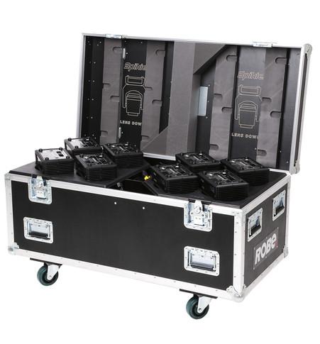 Eight-Pack Top Loader Case Spikie™   ROBE lighting