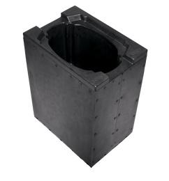 Schaumstoff Case-Einsatz Pointe®