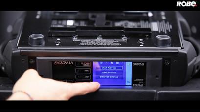 QVGA Robe Touchscreen-Display System