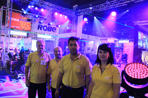 Robe Has Busy PALME Middle East show