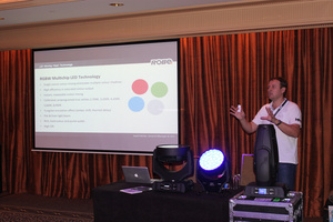 Josef Valchar Presents LED Moving Light Technology Seminars in Australia