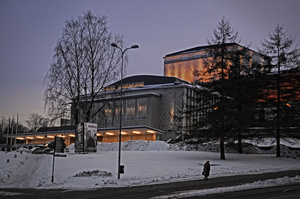 Largest Robe Theatre Installation at Vanemuine Teater Tartu