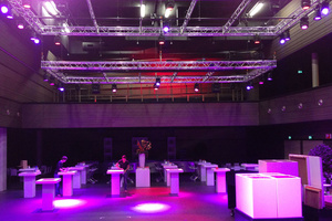 Robe provides LED Solution for New Markant Event Space