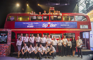 Robe Expands Spiiders Web at PLASA 2016