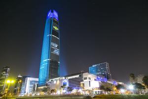 BMFLs Illuminate Tallest Tower in Latin America