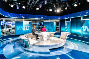 New state-of-the-art WELT TV Studios Equipped with Robe T1 Fresnels
