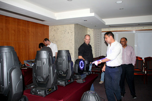 Robe Roadshow in the UAE