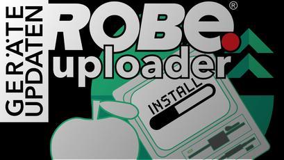 Installation des Robe Uploader auf Apple MacOS