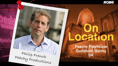 On Location 2 - Philip French at the Peachy Playhouse in Guildford, Surrey