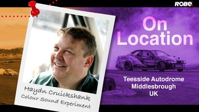 On Location 6 - Haydn Cruickshank at Teesside Autodrome