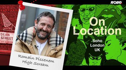 On Location 17 – Romain Pissenem at High Scream's office in Soho, London